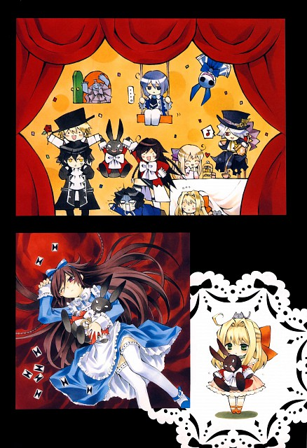 Jun Mochizuki, Xebec, Pandora Hearts, Pandora Hearts ~odds and ends~, Alice (Pandora Hearts)