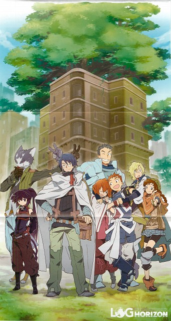Log Horizon, Minori, Nyanta (Log Horizon), Touya (Log Horizon), Naotsugu (Log Horizon)