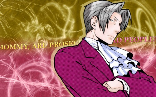 Capcom, Ace Attorney, Miles Edgeworth Wallpaper