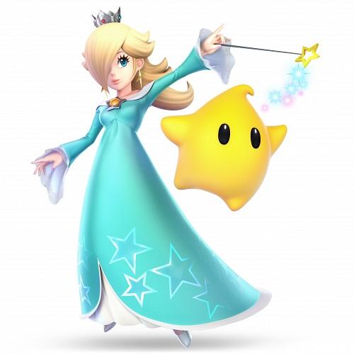 Nintendo, Super Smash Bros. Ultimate, Super Mario, Rosalina, Luma
