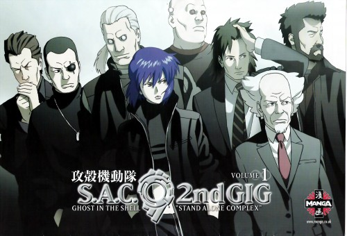 Masamune Shirow, Ghost in the Shell, Ishikawa, Batou, Borma