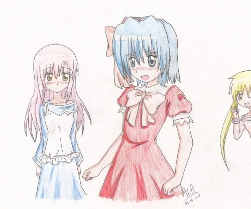 Hayate the Combat Butler, Hayate Ayasaki, Hinagiku Katsura, Nagi Sanzenin, Member Art