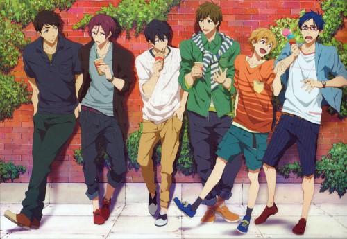 Kyoto Animation, Free!, Rin Matsuoka, Nagisa Hazuki, Sousuke Yamazaki