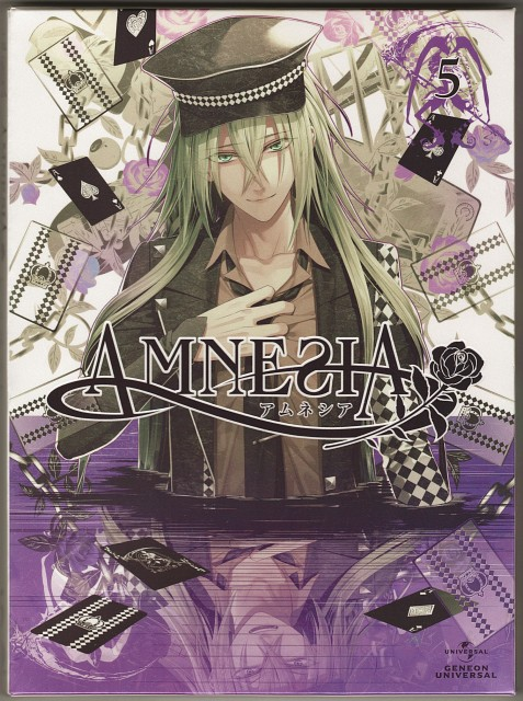 Mai Hanamura, Brains Base, Idea Factory, AMNESIA, Ukyo (AMNESIA)