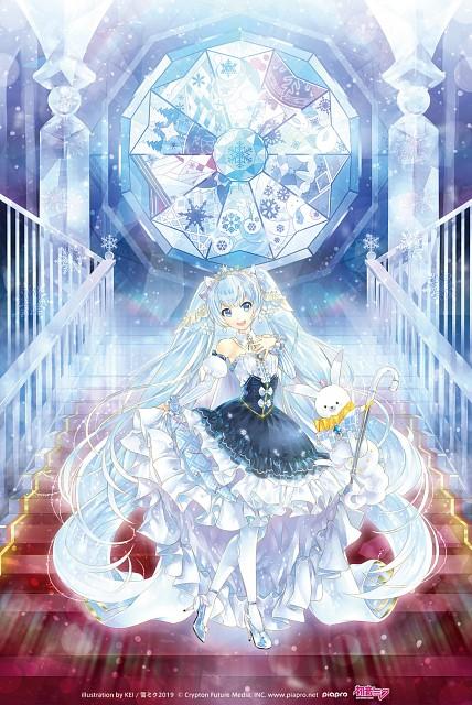 KEI, Vocaloid, Miku Hatsune, Official Digital Art