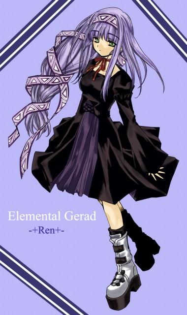 Mayumi Azuma, Xebec, Erementar Gerad, Reverie Metherlence, Vector Art