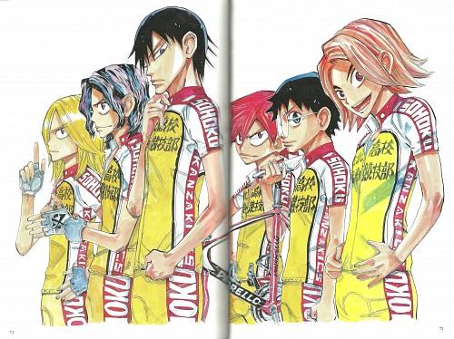 Wataru Watanabe, TMS Entertainment, Yowamushi Pedal, Yowamushi Pedal Colors, Junta Teshima
