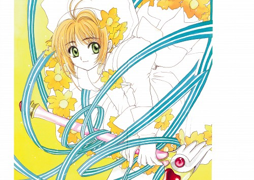 CLAMP, Cardcaptor Sakura, Cardcaptor Sakura Illustrations Collection 2, Sakura Kinomoto