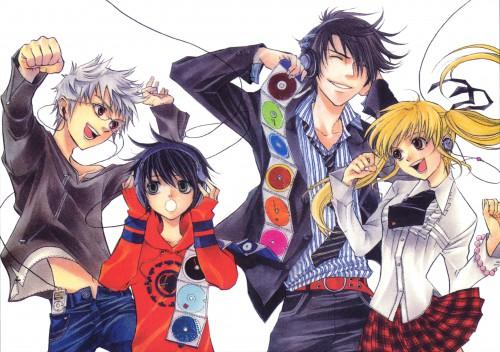 Yuuki Kamatani, Square Enix, Nabari no Ou, Kouichi Aizawa, Raimei Shimizu