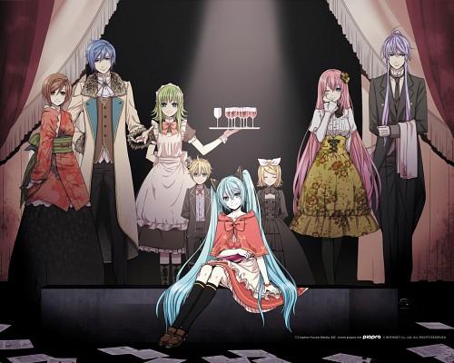 Suzunosuke, Vocaloid, Len Kagamine, Meiko, Rin Kagamine