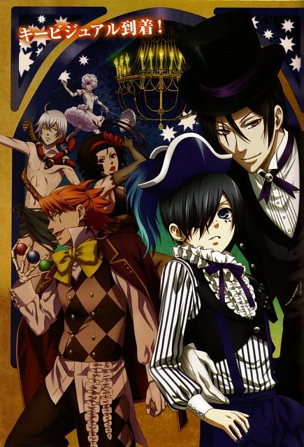 A-1 Pictures, Kuroshitsuji, Joker, Beast, Ciel Phantomhive