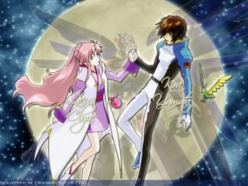 Sunrise (Studio), Mobile Suit Gundam SEED, Haro, Torii (Gundam SEED), Lacus Clyne Wallpaper