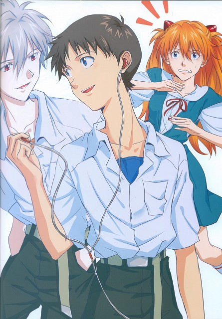 Gainax, Khara, Neon Genesis Evangelion, Imaginary Happiness, Asuka Langley Soryu