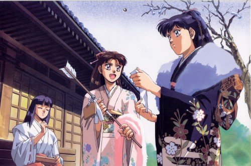 Kia Asamiya, Silent Mobius, Nami Yamigumo, Yuki Saiko, Katsumi Liqueur