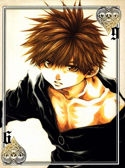 Kazuya Minekura, Saiyuki, Salty Dog IX, Son Goku (Saiyuki)
