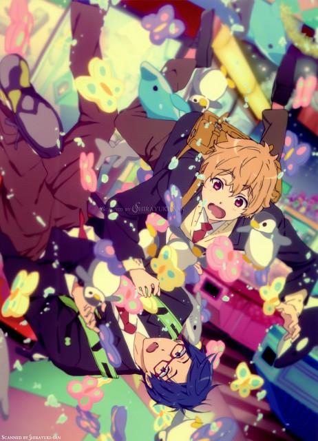 Futoshi Nishiya, Kyoto Animation, Free!, Nagisa Hazuki, Rei Ryuugazaki