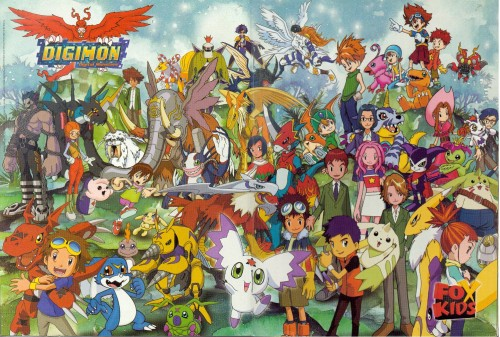 Toei Animation, Digimon Tamers, Digimon Adventure, Sora Takenouchi, Takeru Takaishi