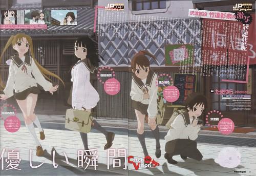 Haruko Izuka, Tamayura, Fuu Sawatari, Norie Okazaki, Maon Sakurada