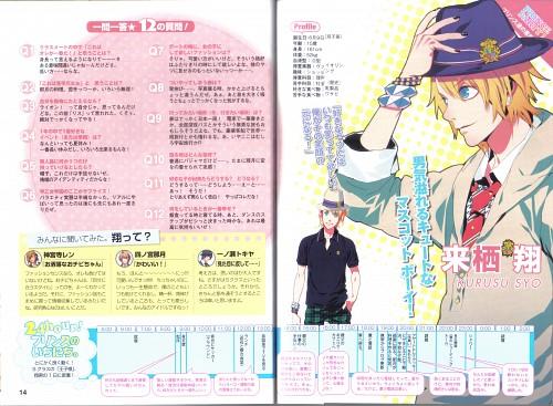 Chinatsu Kurahana, Broccoli, A-1 Pictures, Uta no Prince-sama, Sho Kurusu