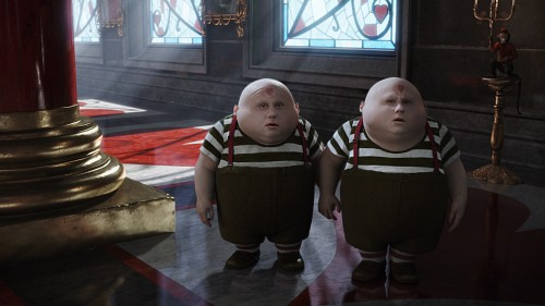 Disney, Alice In Wonderland (2010 Film), Tweedles, Live Action