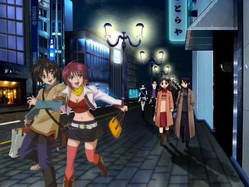 Hisashi Hirai, Sunrise (Studio), Mobile Suit Gundam SEED Destiny, Lunamaria Hawke, Shinn Asuka Wallpaper