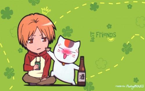 Yuki Midorikawa, Brains Base, Natsume Yuujinchou, Takashi Natsume, Nyanko-sensei Wallpaper