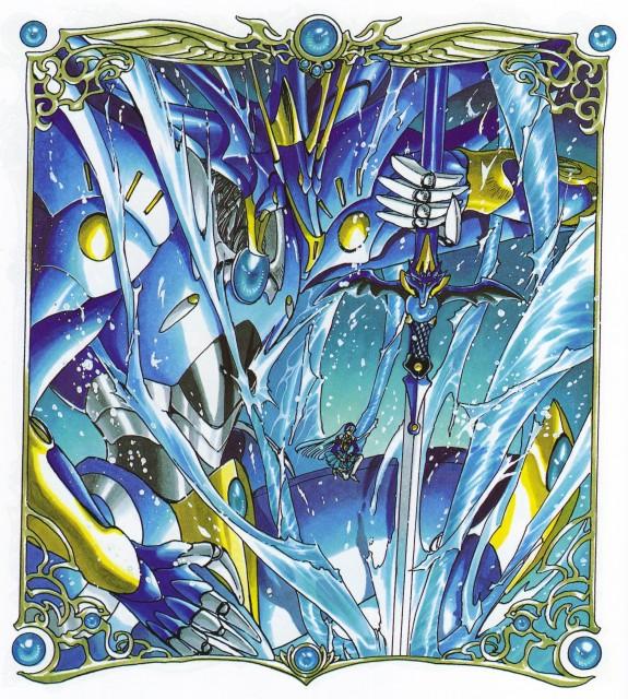 CLAMP, Magic Knight Rayearth, Magic Knight Rayearth Illustrations Collection, Umi Ryuuzaki, Selece