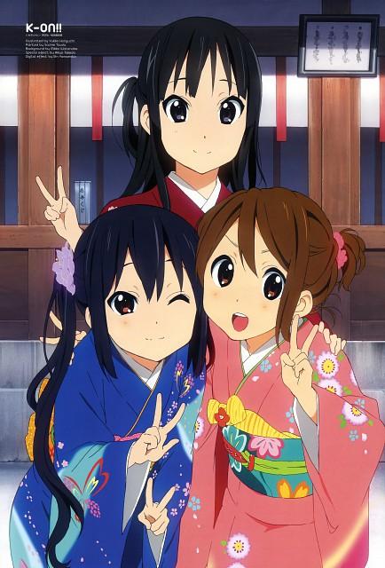 Yukiko Horiguchi, Kyoto Animation, K-On!, Mio Akiyama, Azusa Nakano