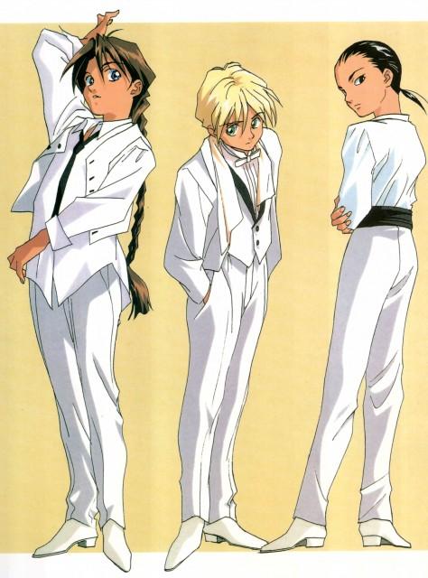 Sunrise (Studio), Mobile Suit Gundam Wing, Quatre Raberba Winner, Chang Wufei, Duo Maxwell