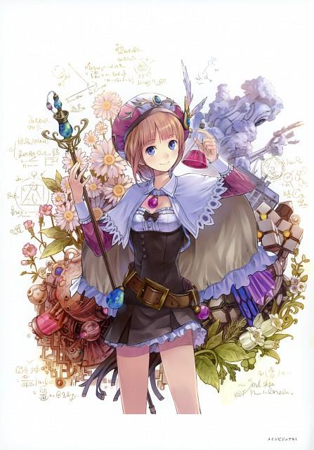 Mel Kishida, Gust, Atelier Series Official Chronicle, Atelier Rorona, Rororina Frywell