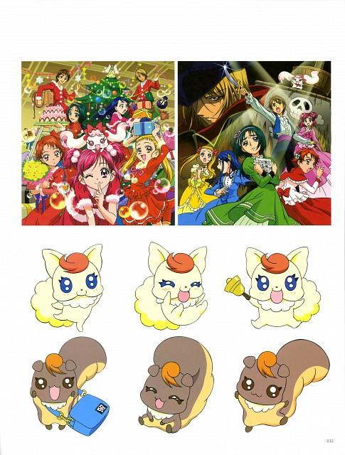 Toei Animation, Yes! Precure 5, Kawamura Toshie Toei Precure Works, Nozomi Yumehara, Urara Kasugano