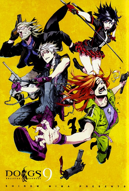 Miwa Shirow, David Production, Dogs: Bullets and Carnage, Mihai Mihaeroff, Haine Rammsteiner