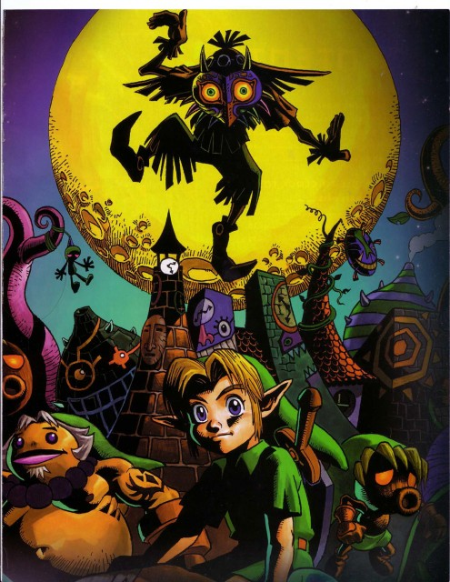 Nintendo, The Legend of Zelda: Majora's Mask, The Legend of Zelda, Skull Kid, Young Link