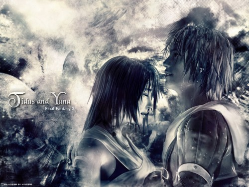 Square Enix, Final Fantasy X, Yuna, Tidus Wallpaper