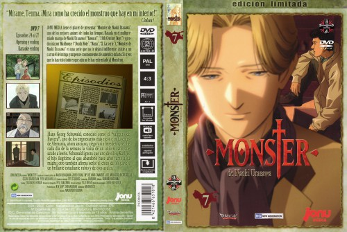 Naoki Urasawa, Madhouse, Monster, Johan Liebert, DVD Cover