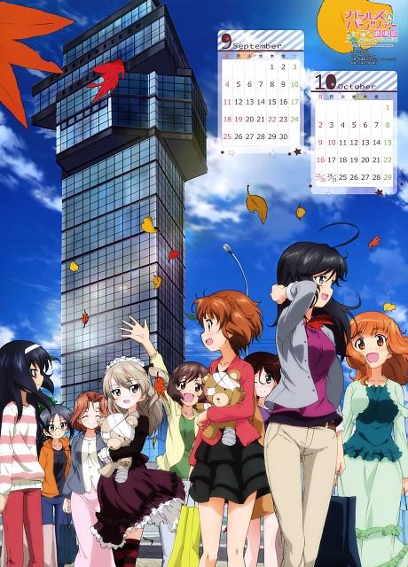 Nobuyoshi Yoshida, Actas, GIRLS und PANZER, GIRLS und PANZER 2016 Calendar, Miho Nishizumi