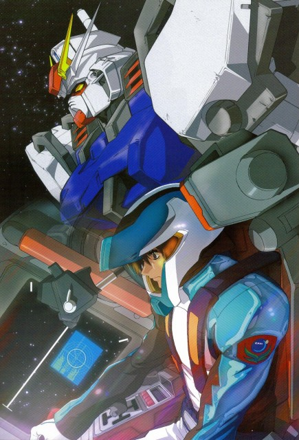 Sunrise (Studio), Mobile Suit Gundam SEED, Hisashi Hirai Illustration Works, Kira Yamato
