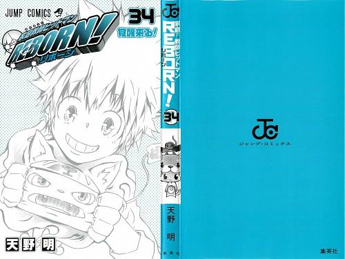 Akira Amano, Katekyo Hitman Reborn!, Tsunayoshi Sawada, Natsu (KHR), Manga Cover