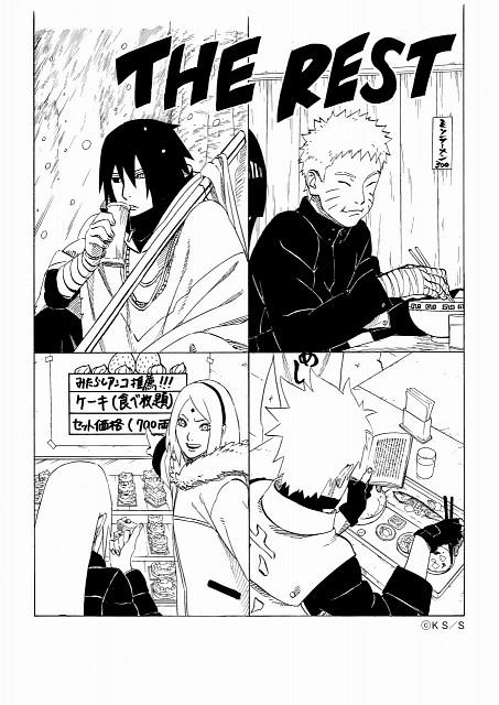 Masashi Kishimoto, Naruto, Kakashi Hatake, Sakura Haruno, Sasuke Uchiha