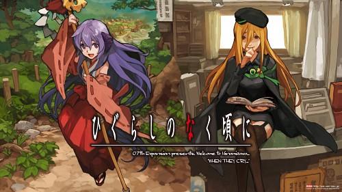 07th Expansion, Higurashi no Naku Koro ni, Hanyuu Furude, Miyo Takano