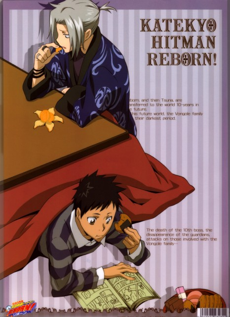 Akira Amano, Artland, Katekyo Hitman Reborn!, Hayato Gokudera, Takeshi Yamamoto