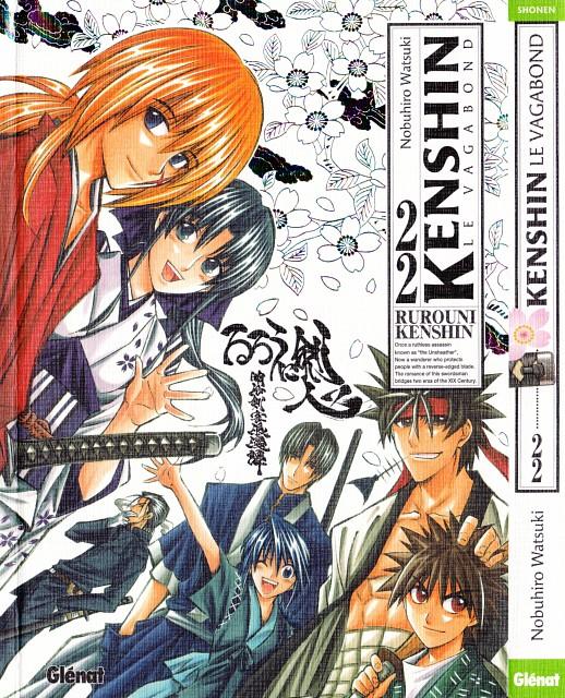 Nobuhiro Watsuki, Rurouni Kenshin, Hajime Saitou, Kenshin Himura, Aoshi Shinomori