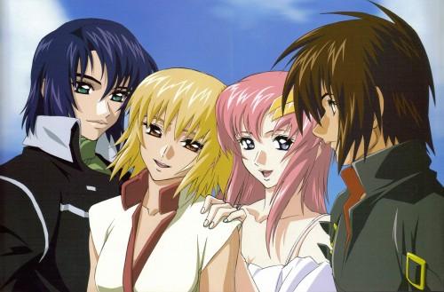 Sunrise (Studio), Mobile Suit Gundam SEED Destiny, Lacus Clyne, Cagalli Yula Athha, Athrun Zala