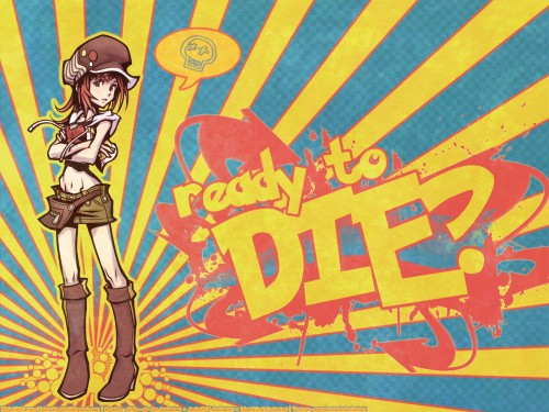 The World Ends With You, Shiki Misaki Wallpaper