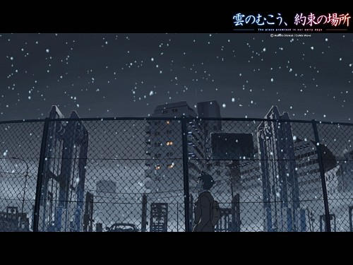 Makoto Shinkai, CoMix Wave Inc., The Place Promised in Our Early Days, Hiroki Fujisawa, Official Wallpaper
