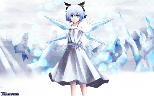 Touhou, Cirno, Member Art Wallpaper