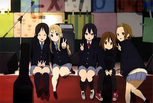 Kakifly, Kyoto Animation, K-On!, Tsumugi Kotobuki, Azusa Nakano