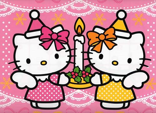 Sanrio, Hello Kitty (Series), Kitty White, Mimmy White