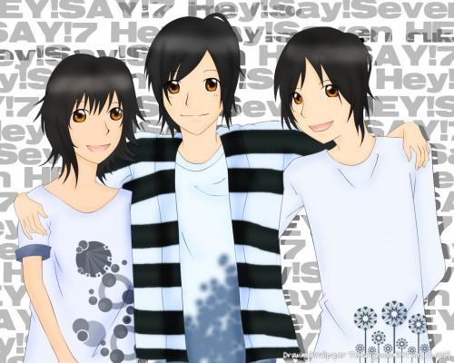 Yuuri Chinen, Ryosuke Yamada, Hey! Say!, Yuto Nakajima, Member Art Wallpaper