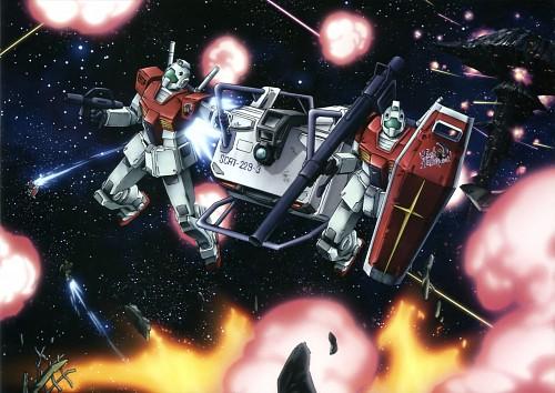 Sunrise (Studio), Mobile Suit Gundam - Universal Century, Gundam Perfect Files, Jack Bayard